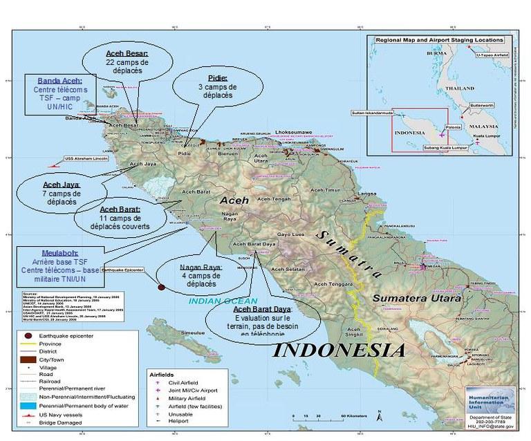 Impact of the 2005 tsunami on Sumatra Island