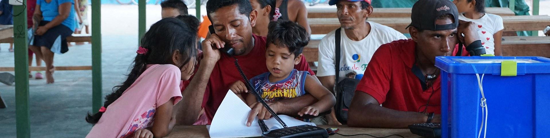 Venezuelan Migration Crisis — Télécoms Sans Frontières ...