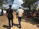 Visite du camp de Nhamatanda.