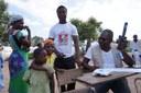 Gilo, aide TSF a mener son Opération de Téléphonie Humanitaire à Matarara.