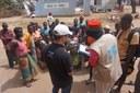 Opération de Téléphonie Humanitaire à Buzi.