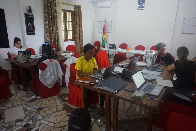 Bureaux de MSF à Mafambisse
