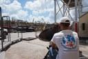 Installation d'un GX pour soutenir la coordination humanitaire sur l'île d'Abaco