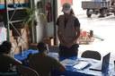TSF a organisé une formation au Centre d'opérations d'urgence géré par la National Emergency Management Agency.