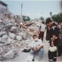 Les Mini M de TSF assurent les communications des équipes USAR qui recherchent les survivants bloqués sous les décombres suite au séïsme d'Izmit en Turquie (2005).