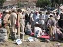 Opération de téléphonie au Cachemire pakistanais après le séisme de 2005. Equipement utilisé : Mini M
